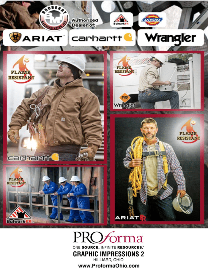 workwear, uniforms, and carhartt in Ohio