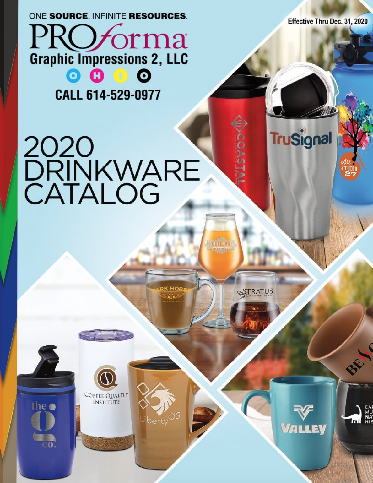 customizable promotional product drinkware in Ohio